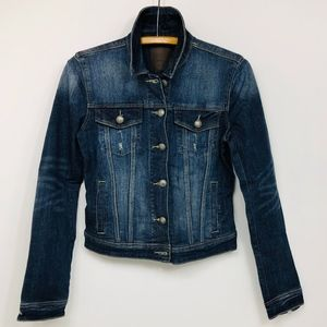 ARTICLES OF SOCIETY Denim Jean Jacket Button Front